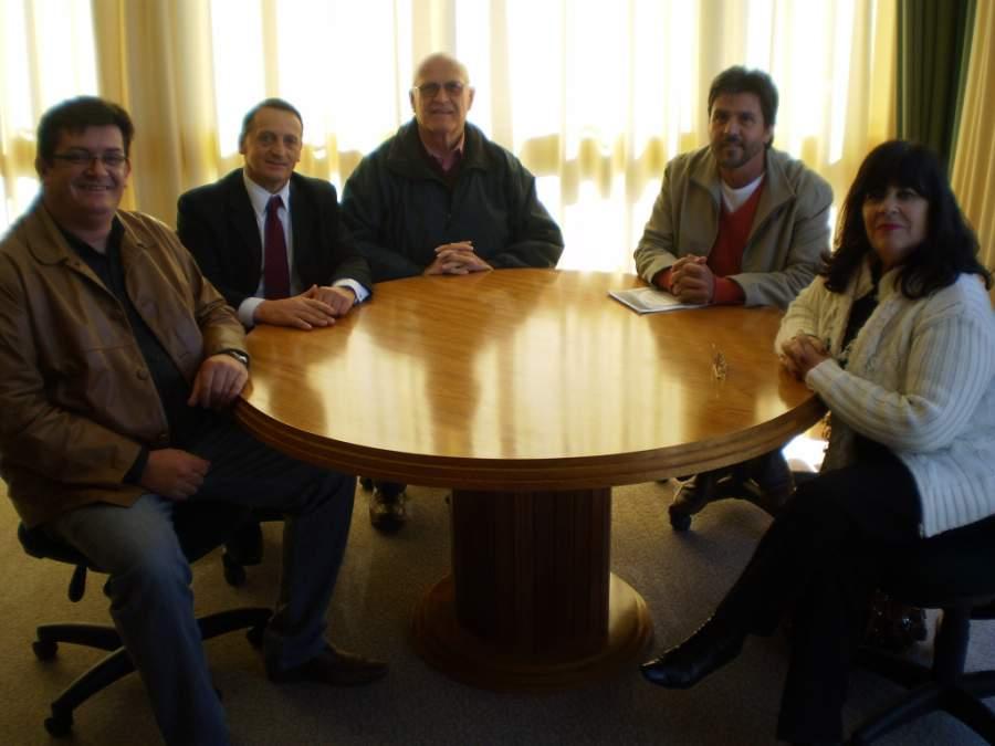 Visita da ARGOS  e dos palestrantes do curso de análise sensorial ao município de Carlos Barbosa