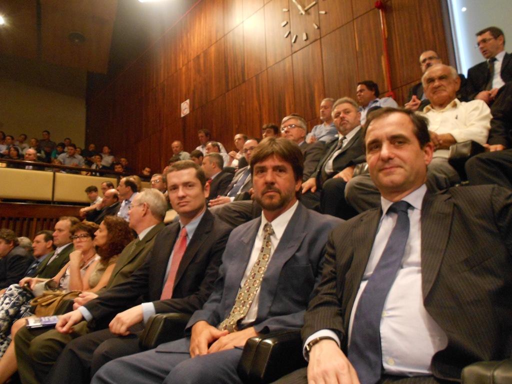 Representantes do Centro de Estudos e Promoção do Azeite do Alentejo-Cepaal no RGS para organização da Finooliva2014