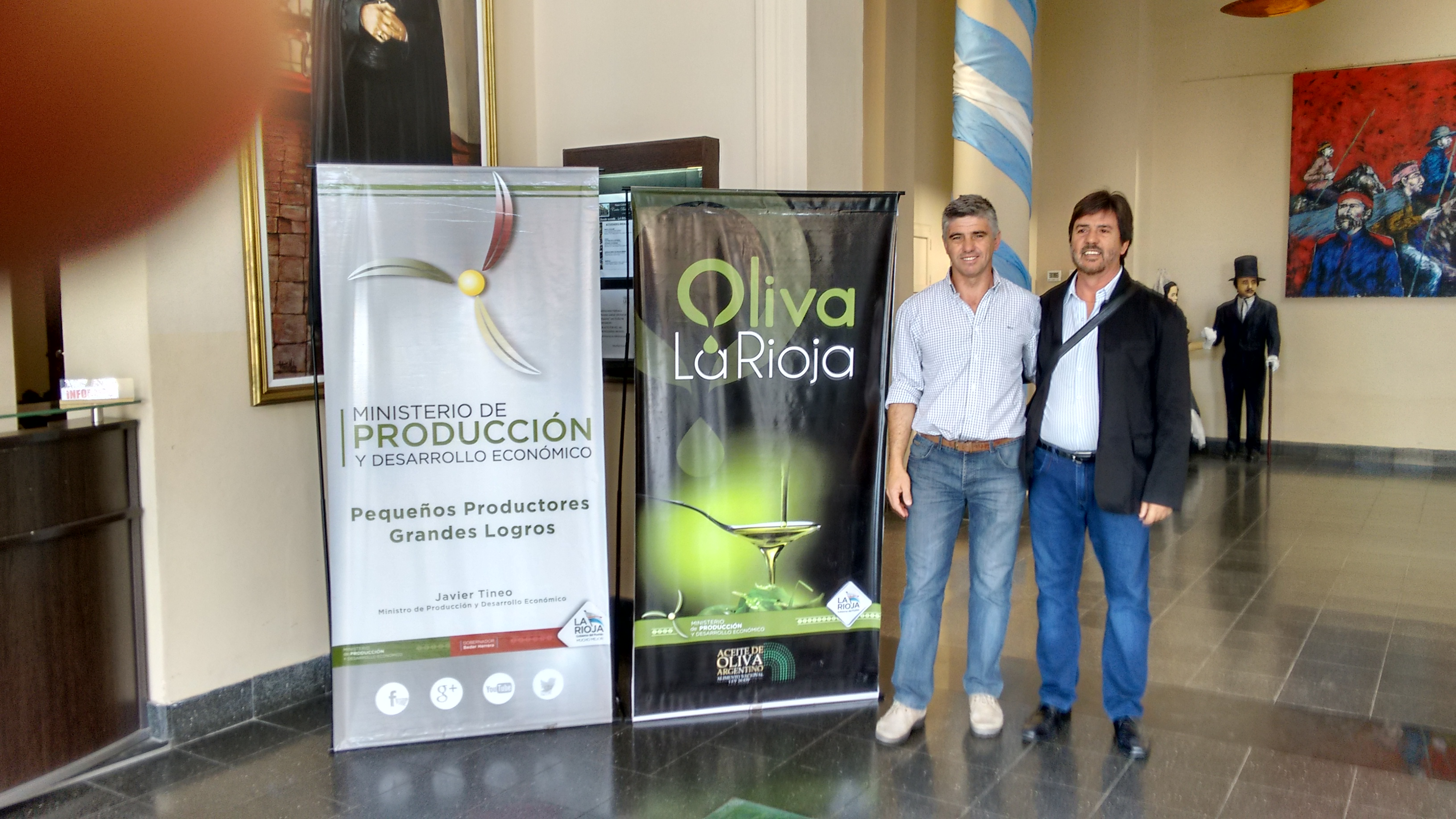 Participação  da ARGOS em Evento Olivícola em La Rioja –Argentina