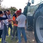 visita a uma plantação de  oliveiras em Bragança