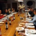 Jantar oferecido pelo IPB  em Romeu-Bragança