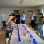 preparação para prova de azeites -visita ao Esporão