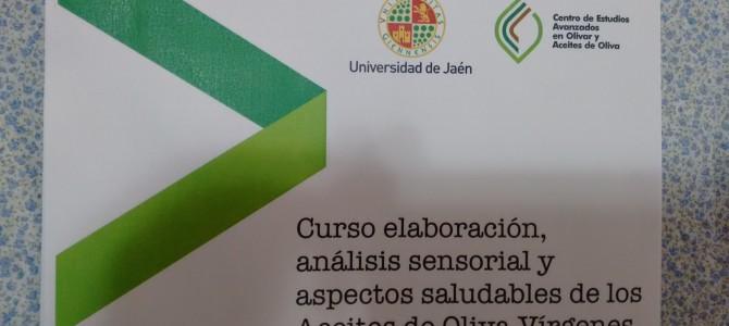 Relatos sobre o  Curso  de Analise Sensorial de Azeites e Saúde- 1ª Edição 2017.