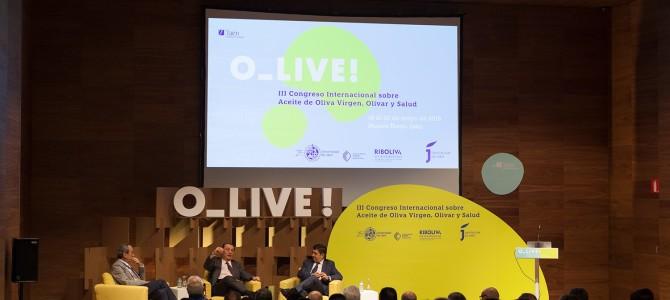 Participação da ARGOS e  do CEPAZO-HCI  no III Congresso Internacional sobre Azeite de Oliva, Olivar e Saúde.